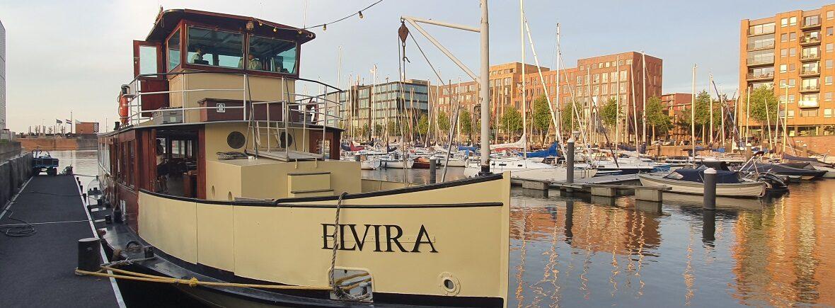 Information Elvira in harbour Amsterdam Tourist Ferry