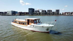 Saloonboat Amber Amsterdam Tourist Ferry