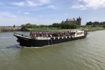 Scedule Amsterdam Tourist Ferry Pampus Muiderslot
